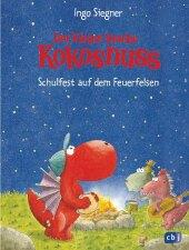 Der kleine Drache Kokosnuss, Schulfest auf dem Feuerfelsen Cover