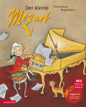 Der kleine Mozart, m. Audio-CD Cover