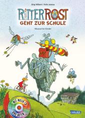 Ritter Rost geht zur Schule, m. Audio-CD