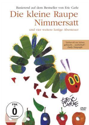 Die kleine Raupe Nimmersatt und vier weitere lustige Abenteuer, 1 DVD