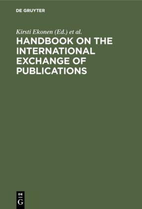 Handbook on International Exchange of Publications