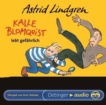 Kalle Blomquist lebt gefährlich, 1 Audio-CD