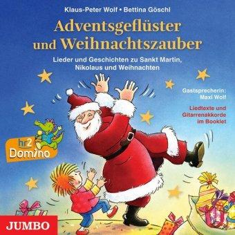 Adventsgeflüster und Weihnachtszauber, 1 Audio-CD