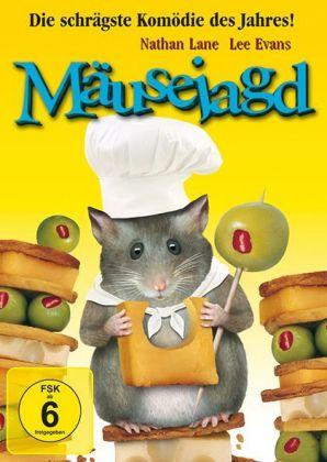Mäusejagd, 1 DVD, mehrsprach. Version
