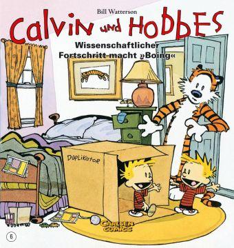 Calvin und Hobbes - Wissenschaftlicher Fortschritt macht 'Boing', Bd.6