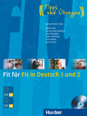 Fit für Fit in Deutsch 1 und 2, m. Audio-CD Cover
