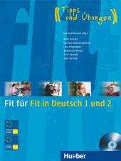 Fit für Fit in Deutsch 1 und 2, m. Audio-CD Cover