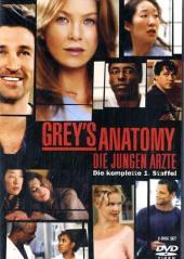 Grey's Anatomy, Die jungen Ärzte, 2 DVDs Cover
