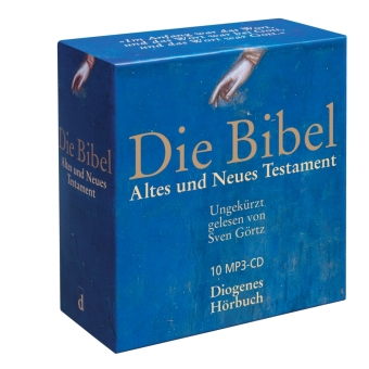 Die Bibel (unrevidierte Elberfelder Übersetzung), 10 Audio-CD