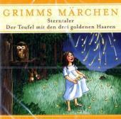 Sterntaler; Der Teufel mit den drei goldenen Haaren, 1 Audio-CD Cover