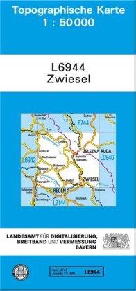 Topographische Karte Bayern.Topographische Karte Bayern Zwiesel Produkt