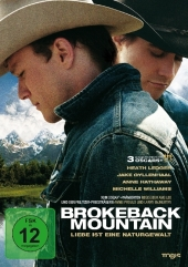 Brokeback Mountain, 1 DVD, deutsche u. englische Version Cover
