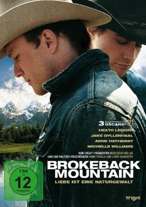 Brokeback Mountain, 1 DVD, deutsche u. englische Version