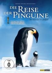 Die Reise der Pinguine, 1 DVD, deutsche u. französische Version Cover