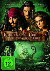 Pirates of the Caribbean, Fluch der Karibik 2, 1 DVD Cover