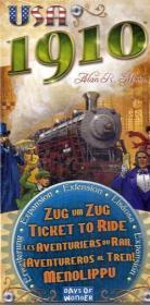Zug um Zug, USA 1910 (Spiel-Zubehör)
