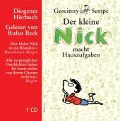 Der kleine Nick macht Hausaufgaben, 1 Audio-CD