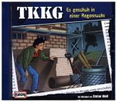 Ein Fall für TKKG - Es geschah in einer Regennacht, 1 Audio-CD Cover