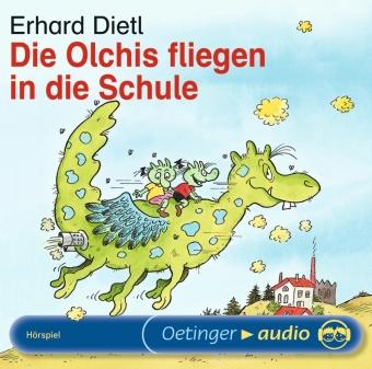 Die Olchis fliegen in die Schule, 1 Audio-CD