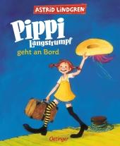 Pippi Langstrumpf geht an Bord, farbige Ausgabe
