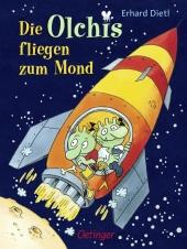 Die Olchis fliegen zum Mond Cover