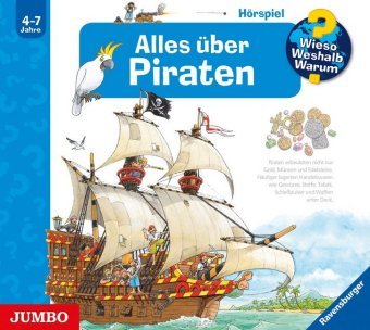 Alles über Piraten, Audio-CD