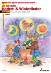 Die schönsten Herbst- & Winterlieder, für 2 Sopranblockflöten u. 1 Altblockflöte Cover