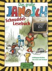 Das große Janosch-Schnuddel-Lesebuch Cover