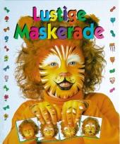Lustige Maskerade Cover