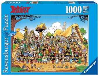 Asterix, Familienfoto (Puzzle)