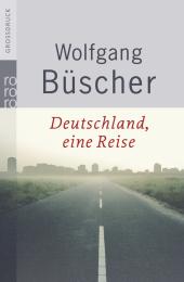 Deutschland, eine Reise, Großdruck Cover