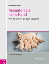 Neonatologie beim Hund Cover