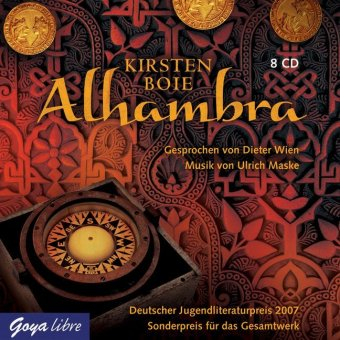 Alhambra, 8 Audio-CDs