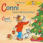 Conni feiert Weihnachten / Conni fährt Ski, 1 Audio-CD Cover