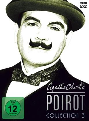 Agatha Christie's Hercule Poirot Collection, 3 DVDs