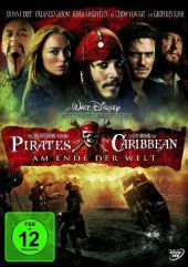 Pirates of the Caribbean, Am Ende der Welt, 1 DVD, deutsche u. englische Version Cover