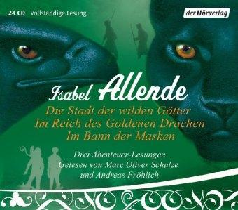 Die Stadt der wilden Götter / Im Reich des goldenen Drachen / Im Bann der Masken, 24 Audio-CDs