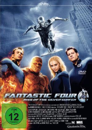 Fantastic Four, Rise of the Silver Surfer, 1 DVD