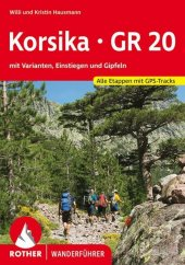 Rother Wanderführer Korsika GR 20 Cover