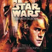 Star Wars, Labyrinth des Bösen, 3 Audio-CDs Cover