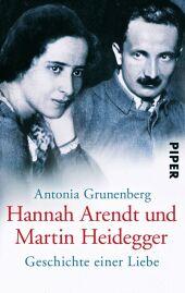 Hannah Arendt und Martin Heidegger Cover