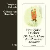Die letzte Liebe des Monsieur Armand, 3 Audio-CDs