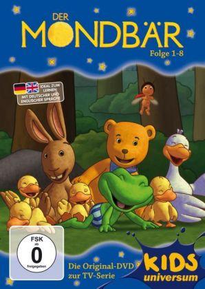 Der Mondbär, 1 DVD, deutsche u. englische Version