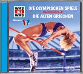 Die Olympischen Spiele / Die alten Griechen, 1 Audio-CD Cover
