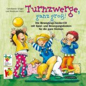 Turnzwerge, ganz groß, Audio-CD Cover