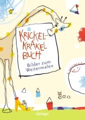 Krickel-Krakel-Buch - Bilder zum Weitermalen