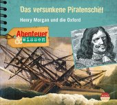 Das versunkene Piratenschiff, Audio-CD Cover