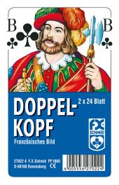 Doppelkopf, Französisches Bild (Spielkarten)