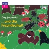 Die drei vom Ast . . . und die Freundschaft, 1 Audio-CD Cover