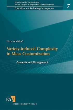 Variety-Induced Complexity in Mass Customization